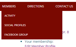 New member options
