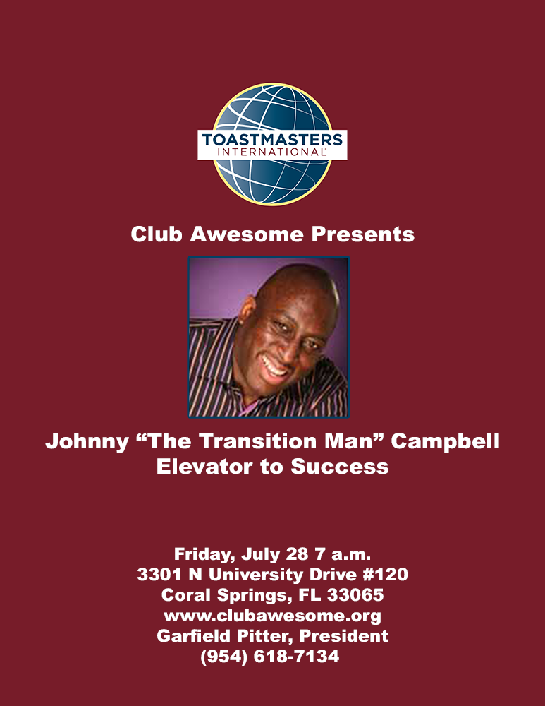 Johnny Campbell Flyer